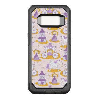 Funda Commuter De OtterBox Para Samsung Galaxy S8 modelo con una princesa