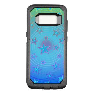 Funda Commuter De OtterBox Para Samsung Galaxy S8 Modelo de estrellas con el color ajustable