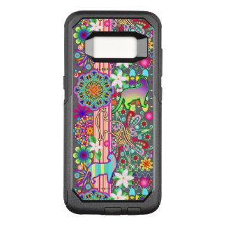 Funda Commuter De OtterBox Para Samsung Galaxy S8 Modelo de la fantasía de las mandalas, de los