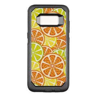 Funda Commuter De OtterBox Para Samsung Galaxy S8 Modelo de la fruta cítrica