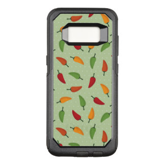 Funda Commuter De OtterBox Para Samsung Galaxy S8 Modelo de la pimienta de chiles