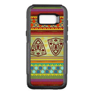 Funda Commuter De OtterBox Para Samsung Galaxy S8+ Modelo de máscara africano colorido