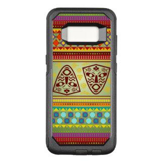 Funda Commuter De OtterBox Para Samsung Galaxy S8 Modelo de máscara africano colorido