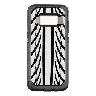 Funda Commuter De OtterBox Para Samsung Galaxy S8 Modelo del extracto de la textura del neumático