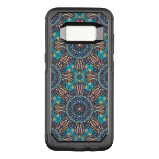 Funda Commuter De OtterBox Para Samsung Galaxy S8 Modelo floral étnico abstracto colorido de la