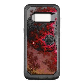 Funda Commuter De OtterBox Para Samsung Galaxy S8 Modelo galáctico vivo de la galaxia del fractal
