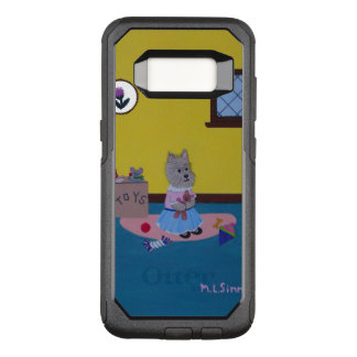 Funda Commuter De OtterBox Para Samsung Galaxy S8 Mojón que juega la caja de la caja de la nutria