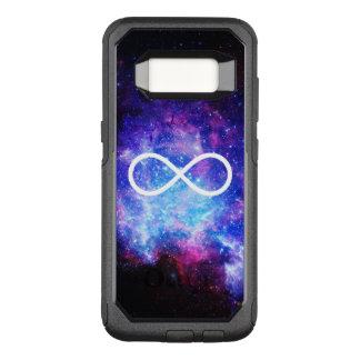 Funda Commuter De OtterBox Para Samsung Galaxy S8 Nebulosa del símbolo del infinito