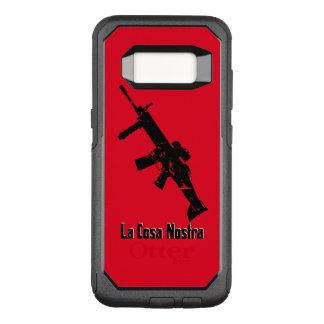Funda Commuter De OtterBox Para Samsung Galaxy S8 Negro, rojo, La Cosa Nostra