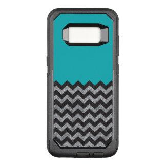 Funda Commuter De OtterBox Para Samsung Galaxy S8 Negro y caja de la galaxia 8 de Chevron del brillo