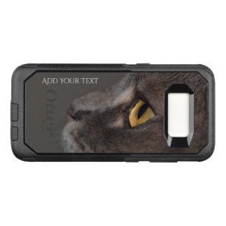 Funda Commuter De OtterBox Para Samsung Galaxy S8 Ojo-Macro del gato de Shirley Taylor