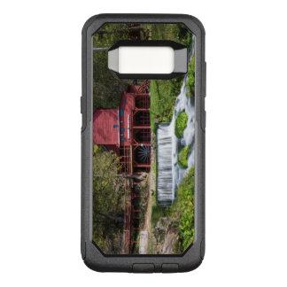 Funda Commuter De OtterBox Para Samsung Galaxy S8 Paisaje del molino de agua de Hodgson