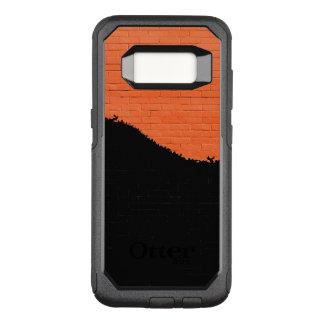 Funda Commuter De OtterBox Para Samsung Galaxy S8 Pared de ladrillo pintada