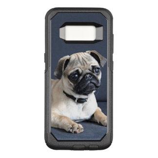Funda Commuter De OtterBox Para Samsung Galaxy S8 Perrito en gandulear el sofá