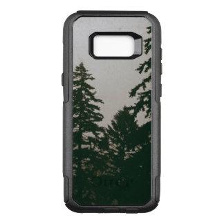 Funda Commuter De OtterBox Para Samsung Galaxy S8+ Pinos oscuros de la naturaleza del árbol de pino