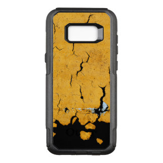 Funda Commuter De OtterBox Para Samsung Galaxy S8+ Pintura amarilla agrietada del camino