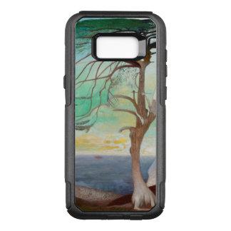 Funda Commuter De OtterBox Para Samsung Galaxy S8+ Pintura de paisaje sola del árbol de cedro