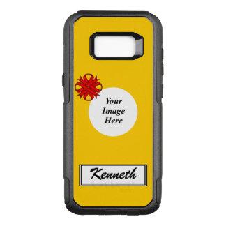 Funda Commuter De OtterBox Para Samsung Galaxy S8+ Plantilla de la cinta del trébol rojo de Kenneth