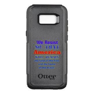 Funda Commuter De OtterBox Para Samsung Galaxy S8+ Porqué nos oponemos. Para Amerca