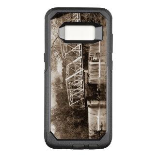 Funda Commuter De OtterBox Para Samsung Galaxy S8 Presa en la sepia del río de Finley