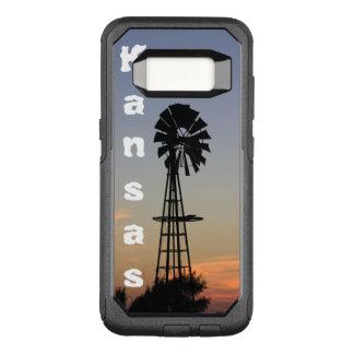 Funda Commuter De OtterBox Para Samsung Galaxy S8 Puesta del sol de Kansas, galaxia de encargo S8 de