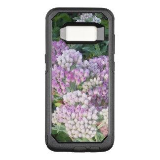 Funda Commuter De OtterBox Para Samsung Galaxy S8 Púrpura y blanco florecidos