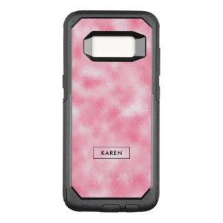 Funda Commuter De OtterBox Para Samsung Galaxy S8 Purpurina abstracto moderno de la fresa y de la