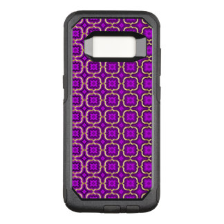 Funda Commuter De OtterBox Para Samsung Galaxy S8 Quatrefoil de púas adornado (color ajustable)