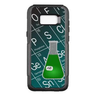 Funda Commuter De OtterBox Para Samsung Galaxy S8+ Química verde del frasco de Erlenmeyer (con