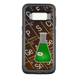 Funda Commuter De OtterBox Para Samsung Galaxy S8 Química verde del frasco de Erlenmeyer (con