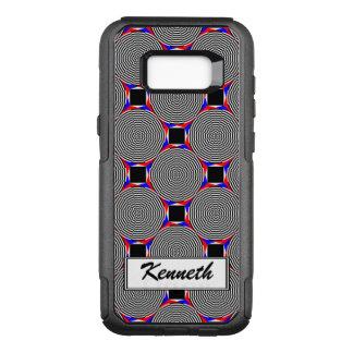 Funda Commuter De OtterBox Para Samsung Galaxy S8+ Radiación negra y blanca de Kenneth Yoncich