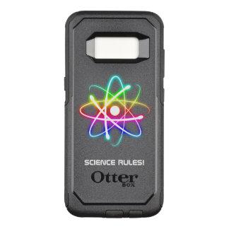 Funda Commuter De OtterBox Para Samsung Galaxy S8 Reglas coloridas de la ciencia del símbolo el |