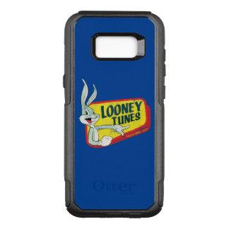 Funda Commuter De OtterBox Para Samsung Galaxy S8+ Remiendo retro LOONEY del ™ TUNES™ de BUGS BUNNY