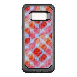 Funda Commuter De OtterBox Para Samsung Galaxy S8 Resplandor del fondo de la textura del diseño