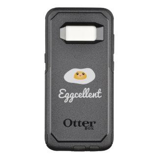 Funda Commuter De OtterBox Para Samsung Galaxy S8 Retruécano chistoso de la comida de Eggcellent del