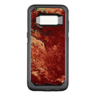 Funda Commuter De OtterBox Para Samsung Galaxy S8 Roca pintada rojo