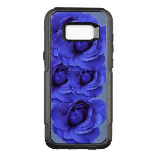 Funda Commuter De OtterBox Para Samsung Galaxy S8+ Rosas azules, caso de Otterbox