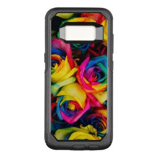 Funda Commuter De OtterBox Para Samsung Galaxy S8 Rosas coloridos