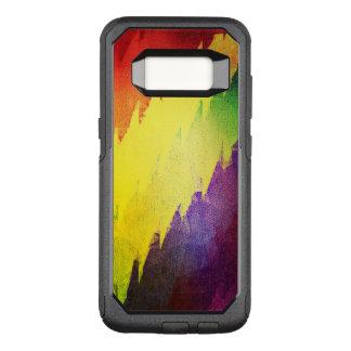 Funda Commuter De OtterBox Para Samsung Galaxy S8 ROY G BIV. caja del teléfono