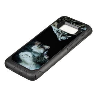 Funda Commuter De OtterBox Para Samsung Galaxy S8 Samsung S8 imprimió la cubierta
