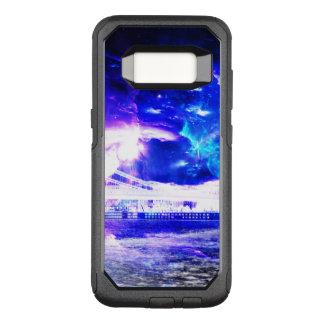 Funda Commuter De OtterBox Para Samsung Galaxy S8 Sueños Amethyst de Budapest del zafiro de Amorem