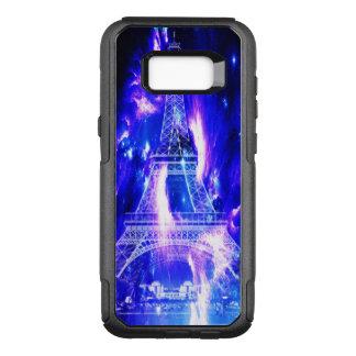 Funda Commuter De OtterBox Para Samsung Galaxy S8+ Sueños Amethyst de París del zafiro