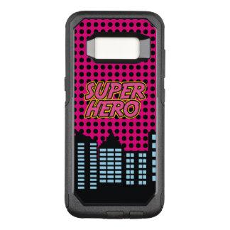 Funda Commuter De OtterBox Para Samsung Galaxy S8 Superhéroe rosado