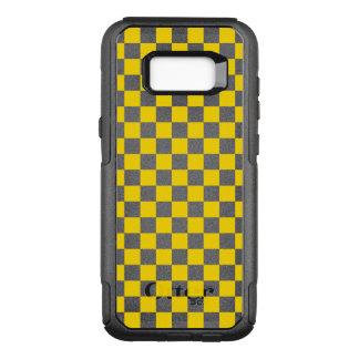 Funda Commuter De OtterBox Para Samsung Galaxy S8+ Tablero de damas amarillo