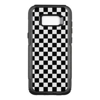 Funda Commuter De OtterBox Para Samsung Galaxy S8+ Tablero de damas blanco y negro
