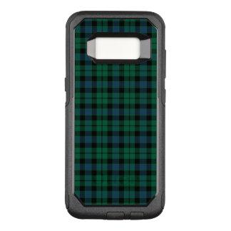 Funda Commuter De OtterBox Para Samsung Galaxy S8 Tela escocesa verde, azul y negra del escocés del