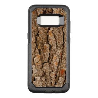 Funda Commuter De OtterBox Para Samsung Galaxy S8 Textura de la corteza de árbol