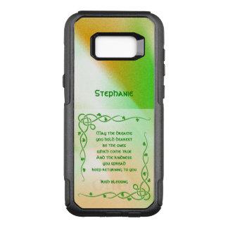 Funda Commuter De OtterBox Para Samsung Galaxy S8+ : Trenzas célticas de la bendición irlandesa (#1)