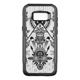 Funda Commuter De OtterBox Para Samsung Galaxy S8+ Tribal indio nativo antiguo abstracto