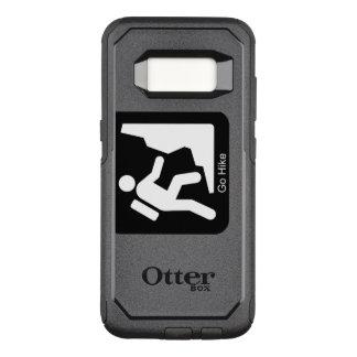 Funda Commuter De OtterBox Para Samsung Galaxy S8 Va el caminante del alza